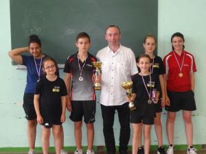 Les médaillés Saint-Orennais