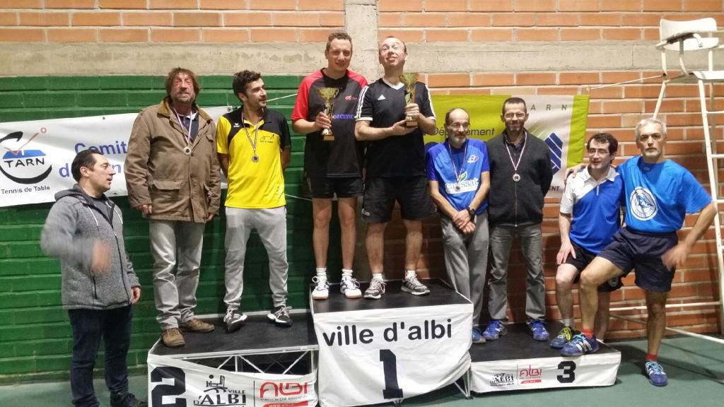 podium double